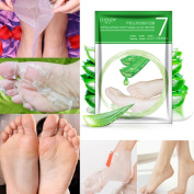 Toraway 1 PC Remove Dead Skin Foot Skin Smooth Exfoliating Feet Mask Foot Care