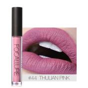 FOCALLURE New Fashion Lipstick , Hunzed Women Matte Lips Cosmetics Lips Gloss Party Lipstick Makeup Tool