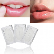 Lip Masks,Promisen Crystal Collagen Lip Moisturising Plumper Mask Anti Ageing Lip Care for Dry Lips White