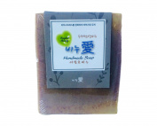 Gangwon, Natural Handmade LOVE SOAP, 100% Natural ingredients, Houttuynia cordata Soap, Good for Skin Problem
