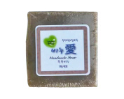 Gangwon, Natural Handmade LOVE SOAP, 100% Natural ingredients, Artemisia Bath Soap, good for Baby, Kids