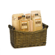 Body Wash Gift Set, Thanksgiving Gift Set, Vanilla And Ginger Scent Spa Basket
