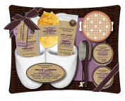 Tuscan Hills French Lavender Bath & Body Gift Set With Slippers