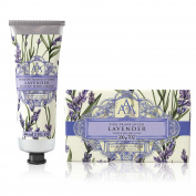 Somerset Toiletry Co. AAA Floral Hand Cream and Triple Milled Soap Set - Lavender