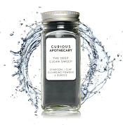 The Deep Clean Sweep Charcoal Face Cleansing Powder by Curious Apothecary