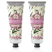 Somerset Toiletry Co. AAA Floral Hand Cream 2-Piece Set - White Jasmine