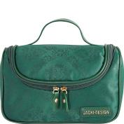Hanging Travel / Cosmetic Makeup Ladies Toiletry Bag Emerald