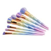 Toraway 7pcs/set Make Up Foundation Eyebrow Eyeliner Blush Cosmetic Concealer Brushes
