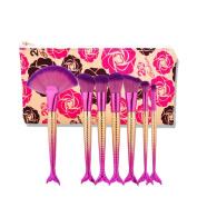 Vovomay Makeup Brushes,7Pcs Make Up Set Soft Toothbrush Beauty Brush Foundation Eyebrow Concealer Cosmetic Eyeshadow Brushes Kits