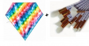 10pcs Makeup brushes sets Diamond Colourful Bag Cosmetics Foundation Blending Blush Make up Organiser Brush tool