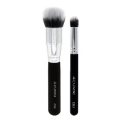 Crown PRO - Duo Fibre Face Set - Sable and Synthetic Blend