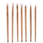 The new 7 small eye shadow honeycomb handle makeup brush