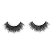 Wleec Beauty Thick Silk Eyelashes, 1 Pair Resusable Silk Fake Eyelashes #506