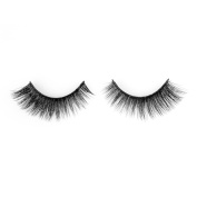 Wleec Beauty Handmade Thick Silk Eyelashes, 1 Pair Silk False Lashes #511