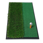"""Golf Putting Mat 12""""x24"""", OUTAD Outdoor/Indoor Training Equipment Aid Golf Practise Mat"""