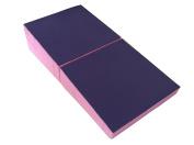"5th Season 150cm x 80cm x 15"" Gymnastics Mat Incline Wedge Mat Folding Skill Shape Mat Mat Tumbling Mat for Indoor & Outdoor Training Exercise Home"
