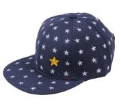 COMVIP Children Hip Hop Star Print Snapback Visor Baseball Cap