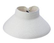COMVIP Adult/Child Wide Brim Beach Sun Hat Bowknot Straw Visor Cap