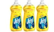 Joy Ultra Concentrated Dishwashing Dish Liquid, Lemon, 890ml