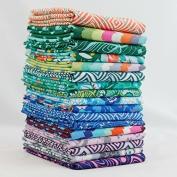 Violette Fat Quarter Bundle (17 pcs) - Amy Butler - Free Spirit 9 x 43 inches (22.86cm x 109.22cm) DIY quilt fabric