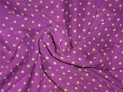 silk chiffon dotted printed dusty lavender 110cm wide