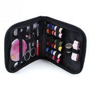 DIY 12 Needle Tape Scissor Multifunction Threads Sewing Kits Portable Useful Travel Home Tools