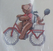 Charmin ~ Bicycling Counted Cross Stitch Kit #40-15