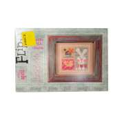 2003 Lizzie Kate Flip It April Blocks With Charm #F23 Counted Cross Stitch Chart