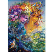 Ukerdo DIY Diamond Painting Dream Beauty Pictures Wall Art Home Decoration