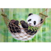 Ukerdo DIY Panda Diamond Painting Handcraft Wall Decor Pictures by Number Kits
