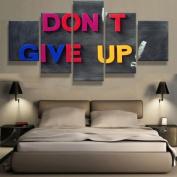 Don't Give Up (John Cena) Motivation - 5 piece Canvas