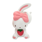 Creazy Fun Rabbit Squishy Decor Slow Rising Kid Toy Squeeze Relieve Anxiet Gift