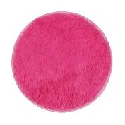 SMYTShop Non-slip Mats Thickened Circular Carpet Mats Dining Room Bedroom Carpet Floor Mat 4040CM