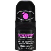 Herban Cowboy Superfruit Roll On Deodorant, 2.5 Fluid Ounce -- 1 each.