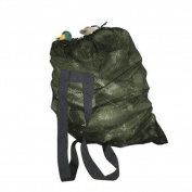 GUGULUZA Green Mesh Decoy Bag With 2 Shoulder Straps Hunting Carry Duck/Goose Decoys Backpack Goose