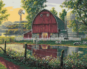 Plaid Creates Barnyard Memories Paint by Number Kit