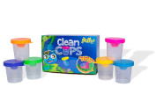 NaturePlay Clean Cups - No Spill Paint Cups With Lids