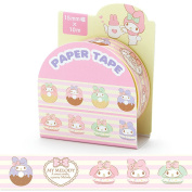 My Melody Sanrio Sweet Donut Edition Masking Deco Tape Standard Japan Collection