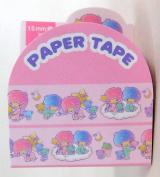 Little Twin Star Kiki & Lala Sanrio Sweet Dream Edition Masking Deco Tape Standard Japan Collection