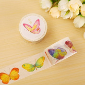 Colour Butterfly washi tape DIY decoration scrapbooking planner masking tape adhesive tape