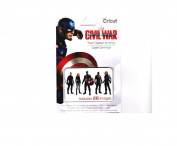 Cricut Digital Cartridge Captain America Civil War TEAM CAPTAIN AMERICA