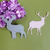 BangBang Christmas Elk Cutting Dies DIY Hand Craft Scrapbook Album Paper Card Decor Tool