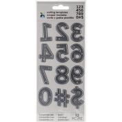 Momenta Cut & Emboss 12 pc set Numbers Symbols
