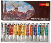 Camel Artist'S Oil Colour Box - 20Ml Tubes, 12 Shades