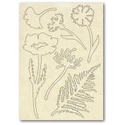 Stamperia Wooden frame f.to A5 Herbarium