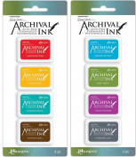 Wendy Vecchi Mini Archival Ink Pads - 2 item Bundle