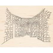 Inner Castle Rubber Stamp