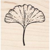 Smooth Ginkgo Leaf Rubber Stamp