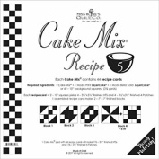 Moda Cake Mix Recipe #5 ~44 recipe cards will make 176, 8.9cm HST & 8.9cm 4 Patches