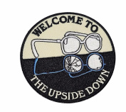 Stranger Things Welcome To The Upside Down Embroidered Patch